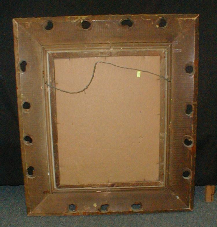 Wall Mirror In Ornate Wood Gold Tone Frame 28 5 X 32 5