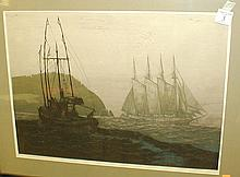 Elton Bennett Reproduction Print-Around the Cape