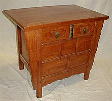 CHINESE ALTAR TABLE WITH TWO DRAWERS AND HIDDEN COMPARTMENT