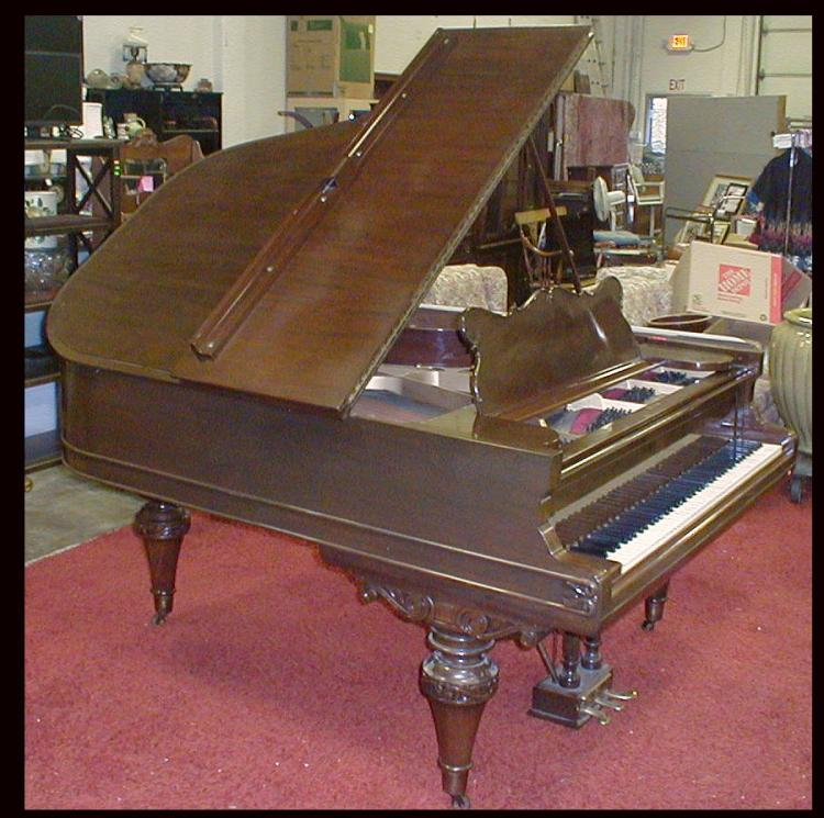 Weber 6 foot grand piano. Early 1900's Refinished. Includes bench. Has big bright sound with lots more resonance than other pianos of this period. $500 minimum