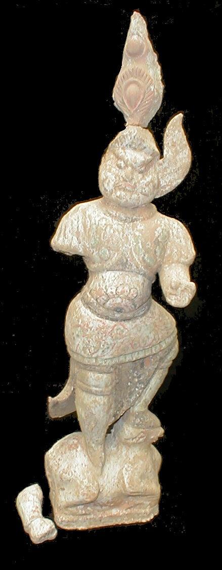 Chinese Lokapala figure