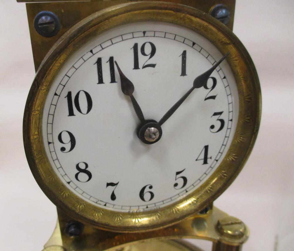 ANTIQUE GUSTAV BECKER ANNIVERSARY CLOCK