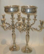 Pair of Wedding Center Piece candle holders. 19 5/8