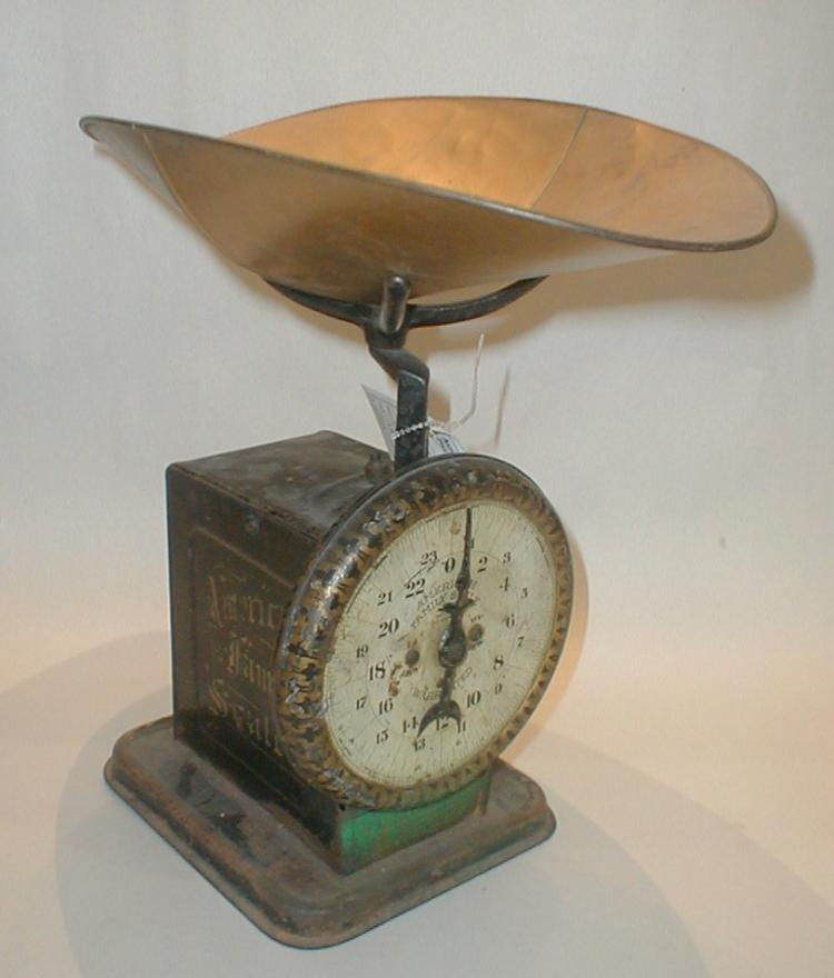 American Family vintage Kitchen Scale