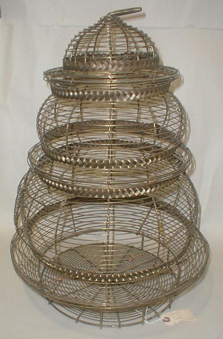 Vintage wire Bird Cage. 22