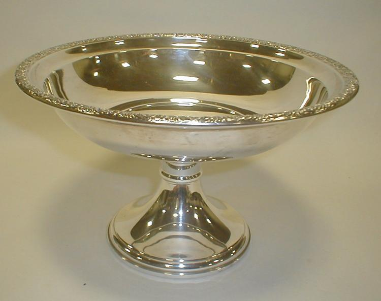 Prelude International Sterling weighted compote. 6