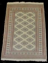 Pakistan fine hand knotted carpet. 5'11