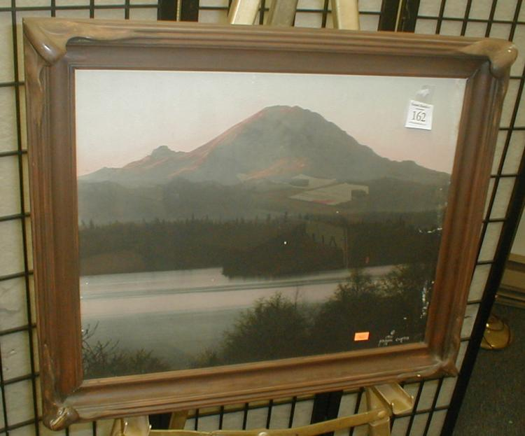 1912 Asahel Curtis photo of Mt. Rainier.