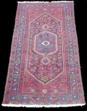 Hand tied carpet. 8'7
