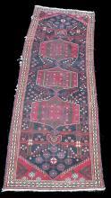 Persian hand made long rug. 9'8
