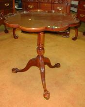 Contemporary Chip-n-dale Lamp Table