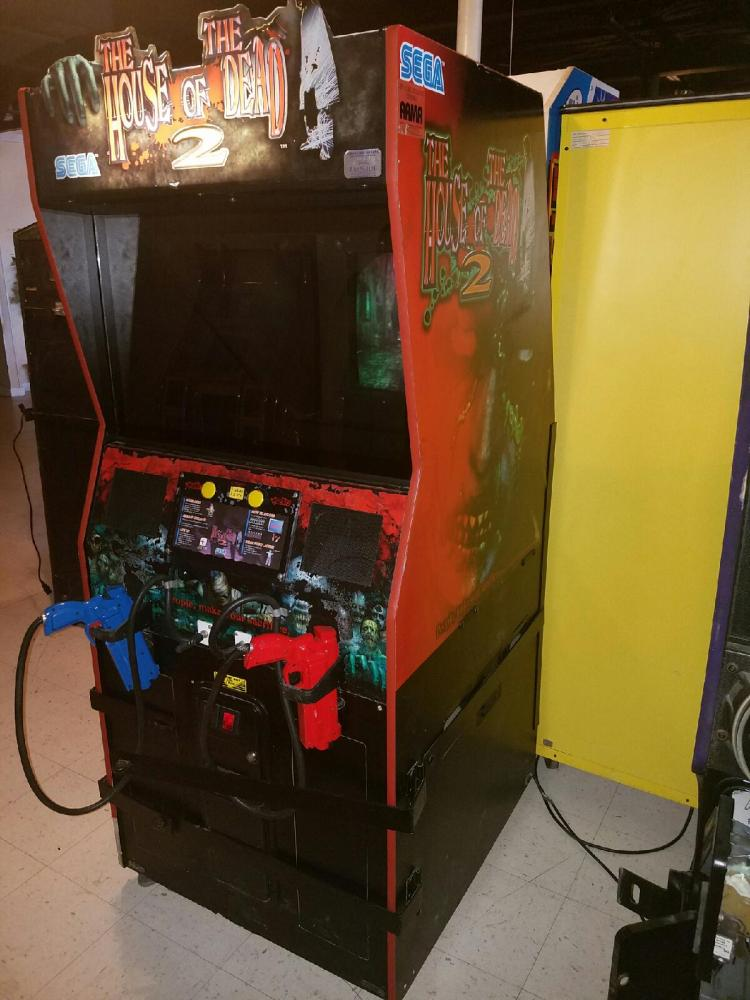 The House Of The Dead 2 Arcade Video Game
