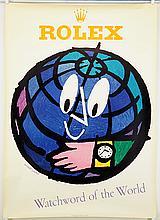 Herbert Leupin (Swiss, 1916-1999) Rolex: Watchword of the World.