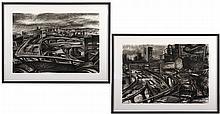 Lisa Eshend (American, Contemporary) Expressways.