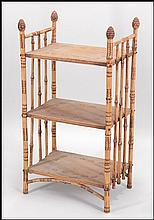 BAMBOO ETAGERE.
