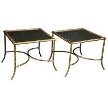 Pair of Maison Charles et Fils Tables