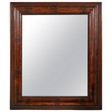 American Empire Mahogany Frame Mirror