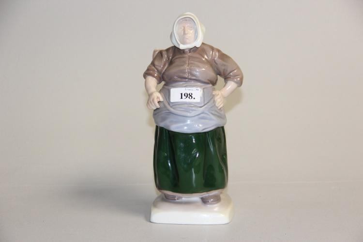 Figur, B&G# Kartoffelkvinde, nr. 1702