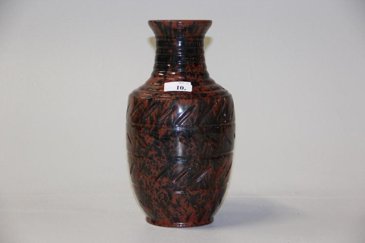 k hler vase glaseret keramik h 32 cm. Black Bedroom Furniture Sets. Home Design Ideas