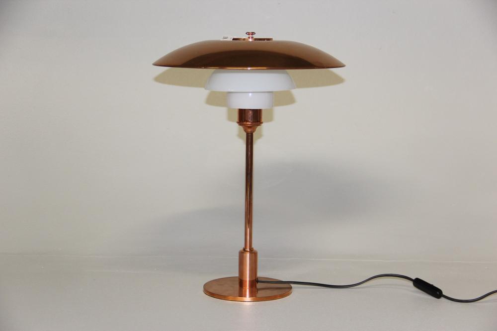 Kendte PH 3 1/2 / 2 1/2# Bordlampe, Limited Edition, stam VM-49