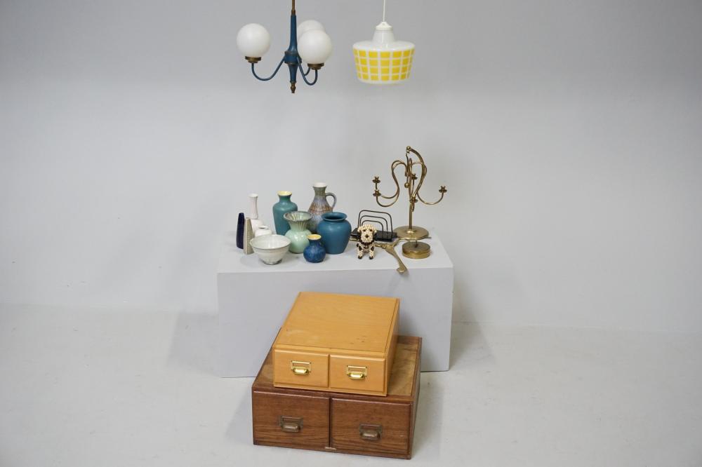 Retroeffekter Samling Arkivmobler Lampe Keramik