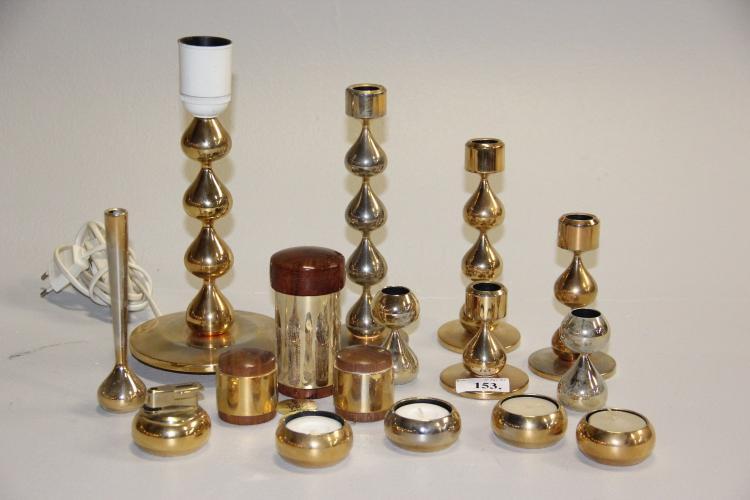 asmussen design Asmussen design# 6 dråbestager, kertestage, 4 fyrfadsstager, asmussen design