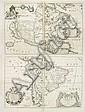 America Settentrionale Colle Nuove Scoperte Sin All Anno 1688. . . (together with] America meridionale . . ., Vincenzo Coronelli, Click for value