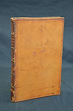 1773 Antiquarian Full leather Fine Binding
