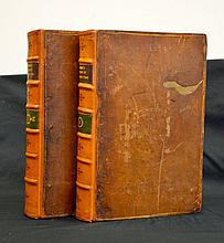 1724  Antiquarian Fine Binding UK History 2 Volume Set