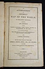 1839 Mitchell's Map of the World