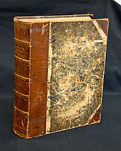1848 Barclays Dictionary with Maps