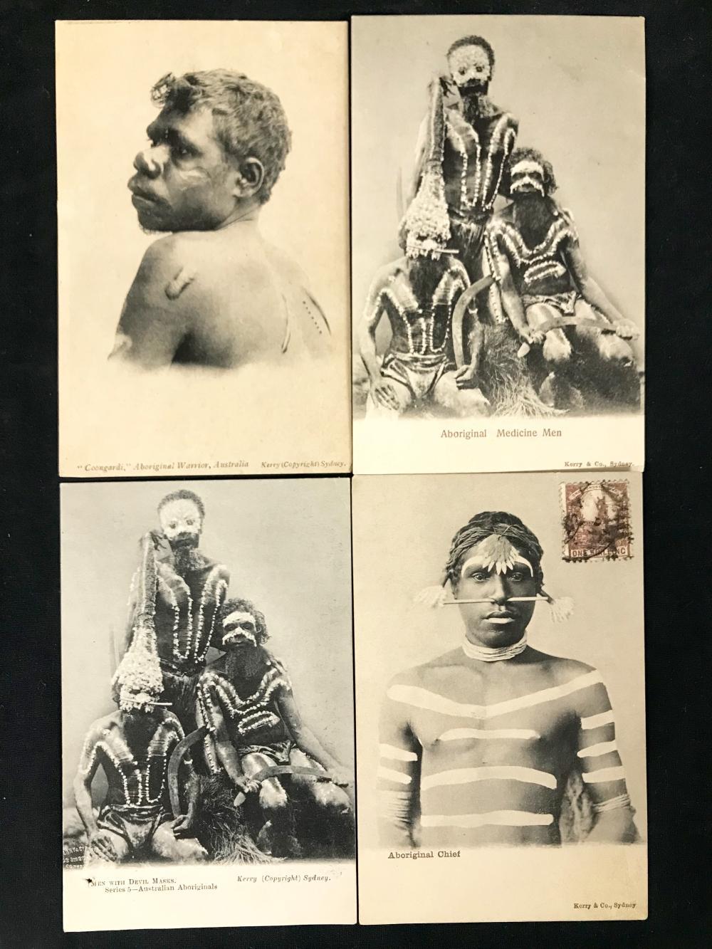 Kerry Postcards Aboriginal People