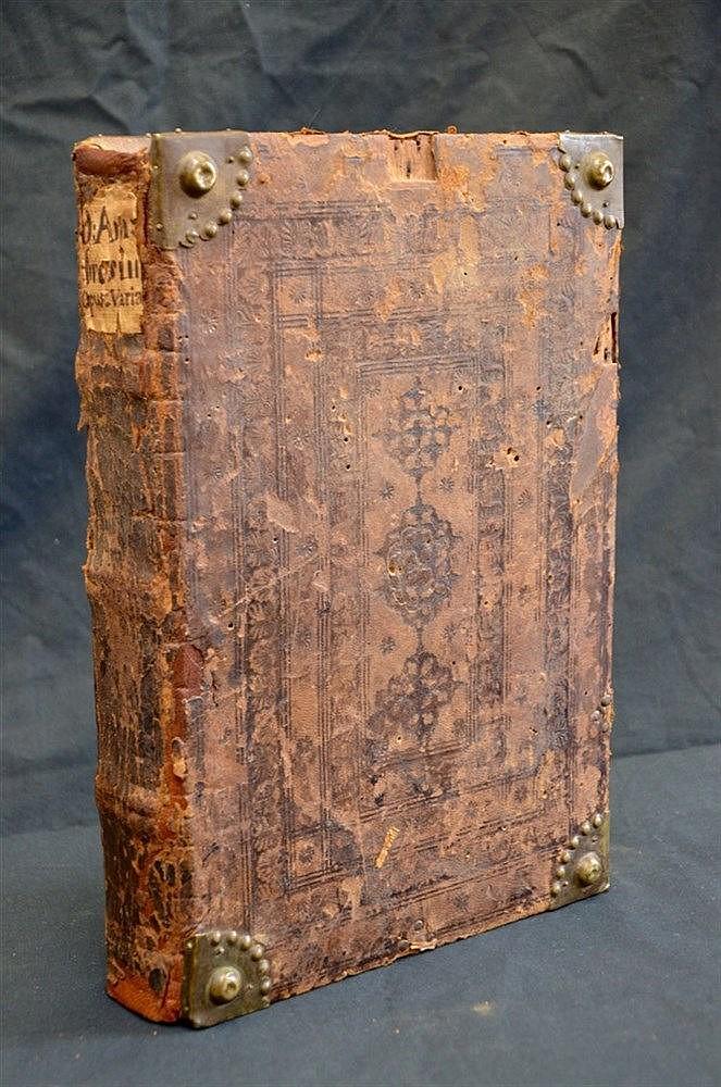 Incunable 1492 St Ambrose in Original Binding