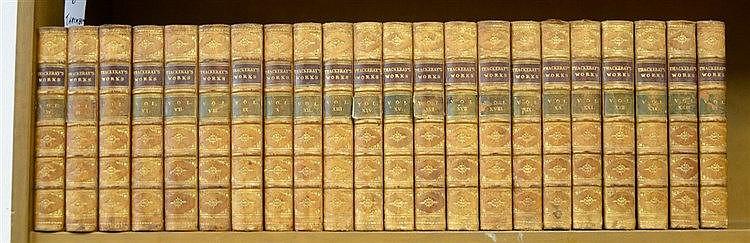 Fine Binding Thackeray 24 Volume Set