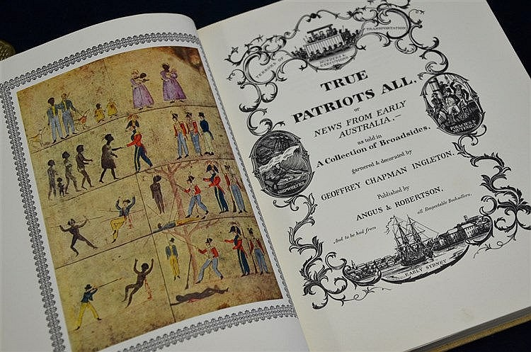 True Patriots All by Ingleton Limited Deluxe Edition with 3 Original Etchings