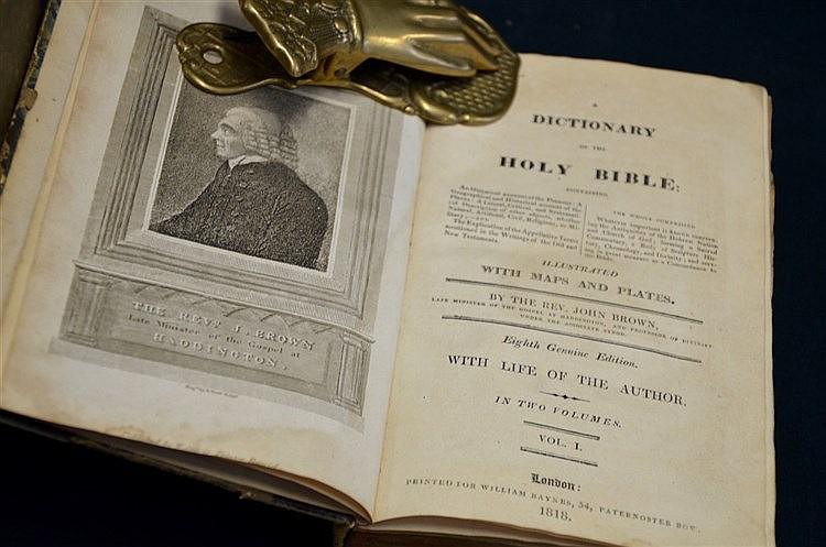 1818 Bible Dictionary