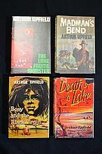 Arthur Upfield 4 x First Editions Heinemann