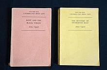 Arthur Upfield Uncorrected Proof Copies x 2