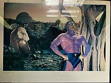 The Phantom: Under #1,000 Issues and Signed Glenn Ford Poster