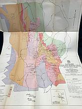 Map: Cloncurry Gold and Mineral Field 1940