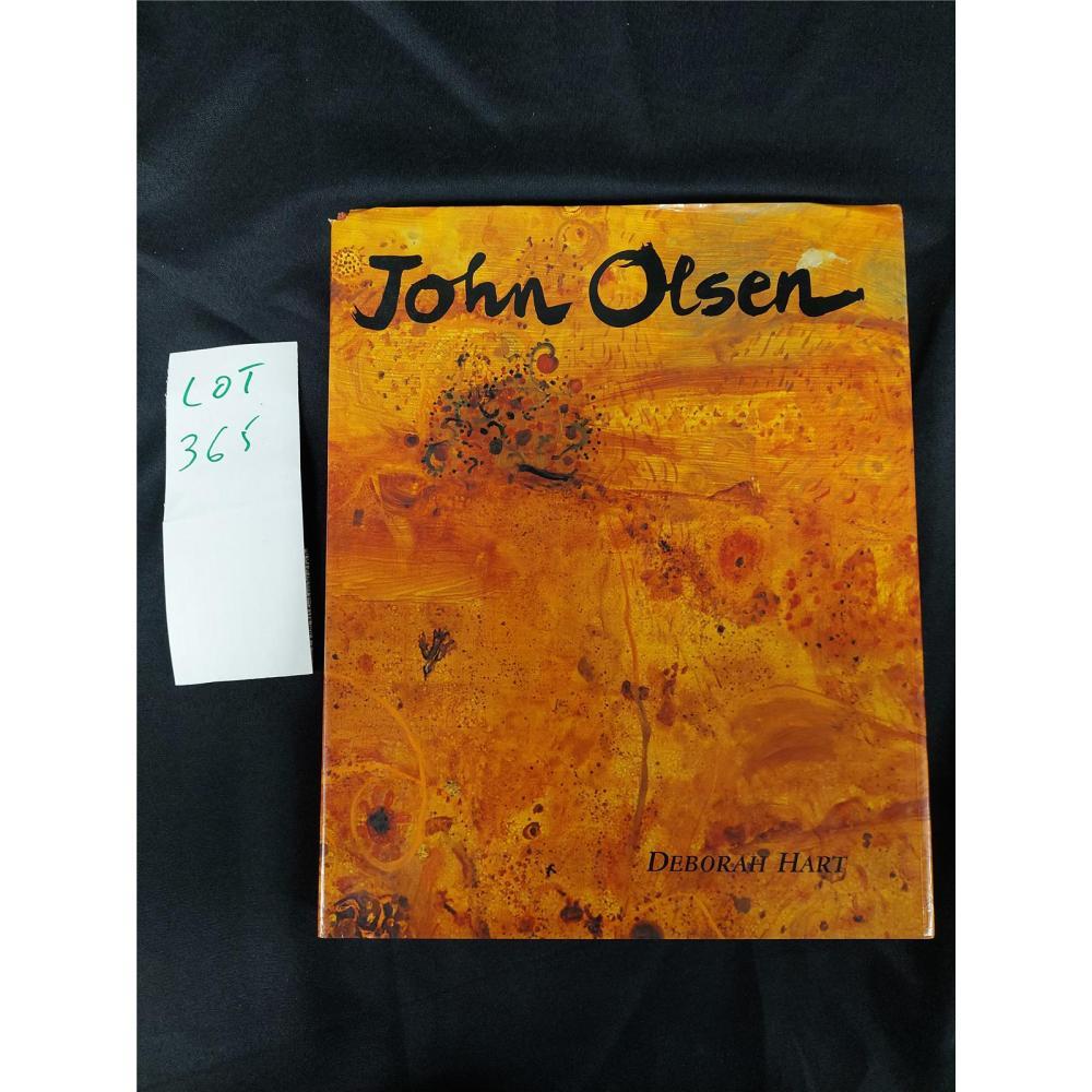 JOHN OLSEN SIGNED
