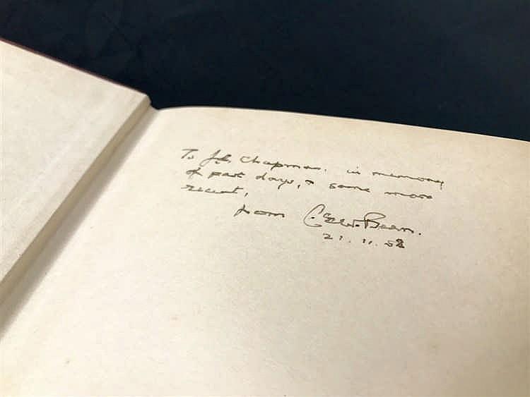 Signed Copy C.E.W. Bean