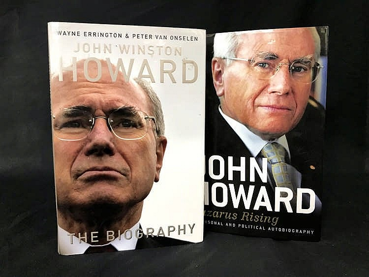 Signed John Howard Autobiography and Biography