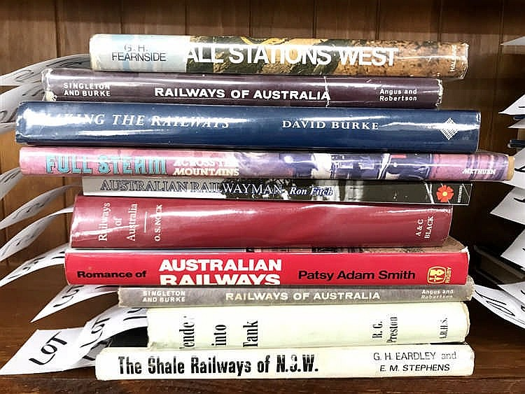 Railways of N.S.W. and Australia