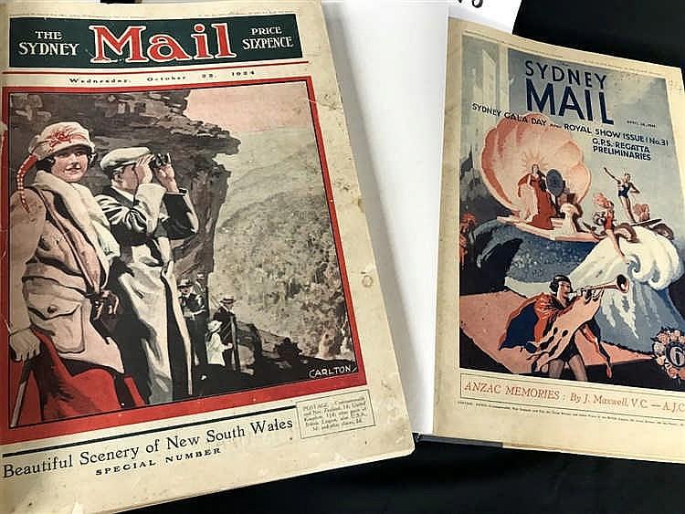 The Sydney Mail Bound Volumes