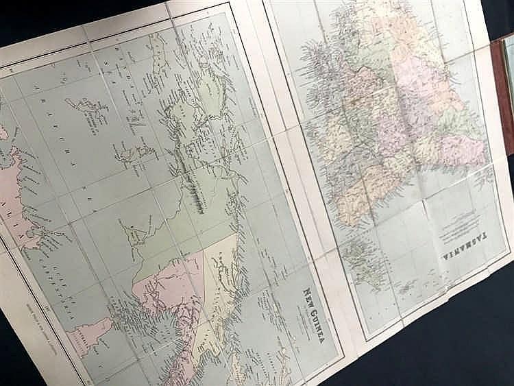 MAP Tasmania & New Guinea