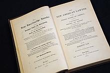 1871 Antiquarian American Law in English and German