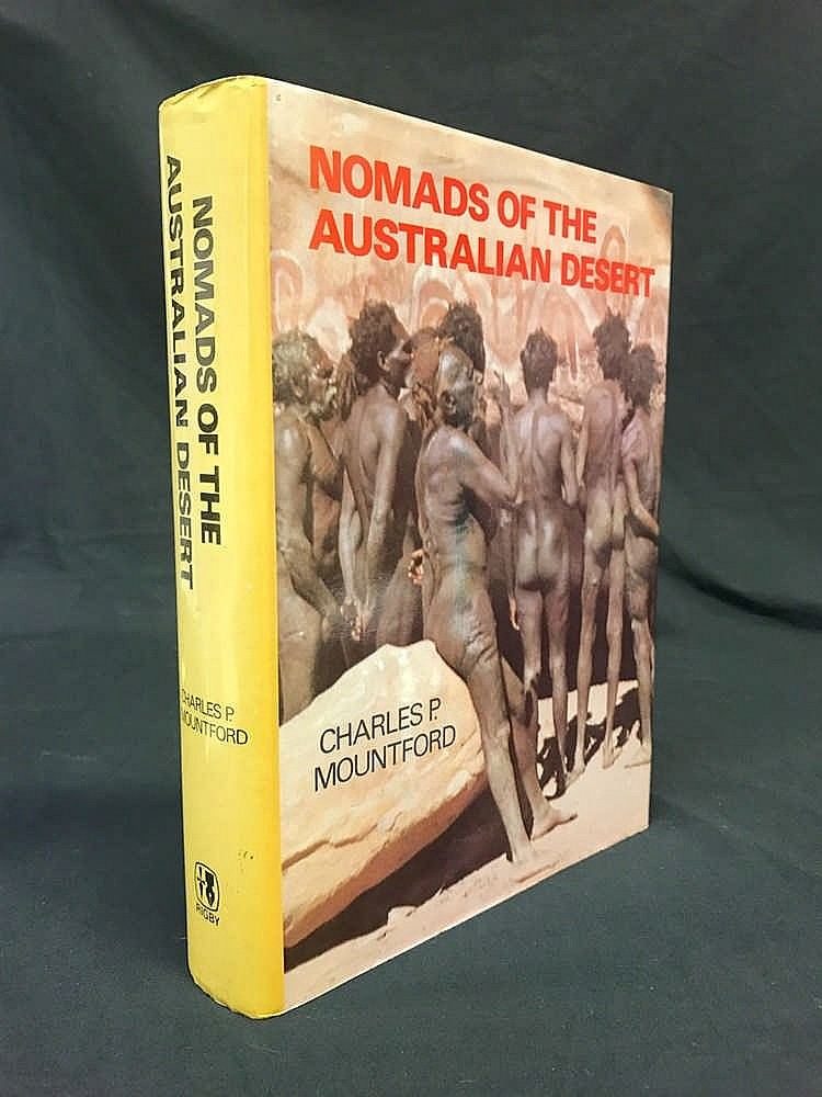 Nomads of the Australian Desert Mountford in Dustwrapper