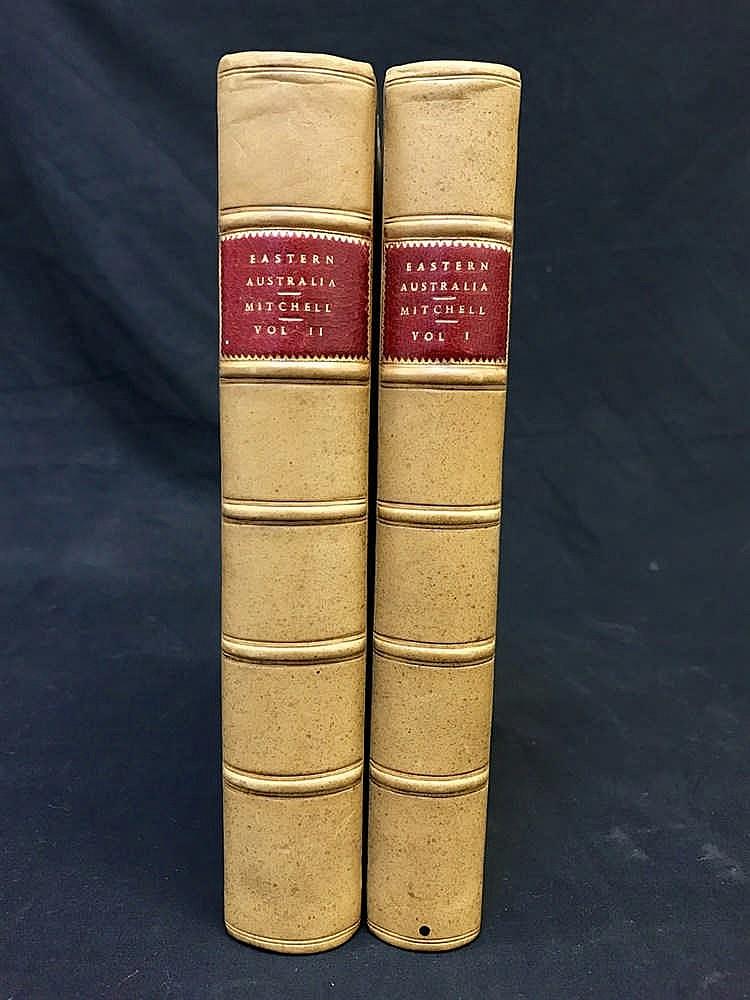 1839 Mitchell Eastern Australia 2 Vols