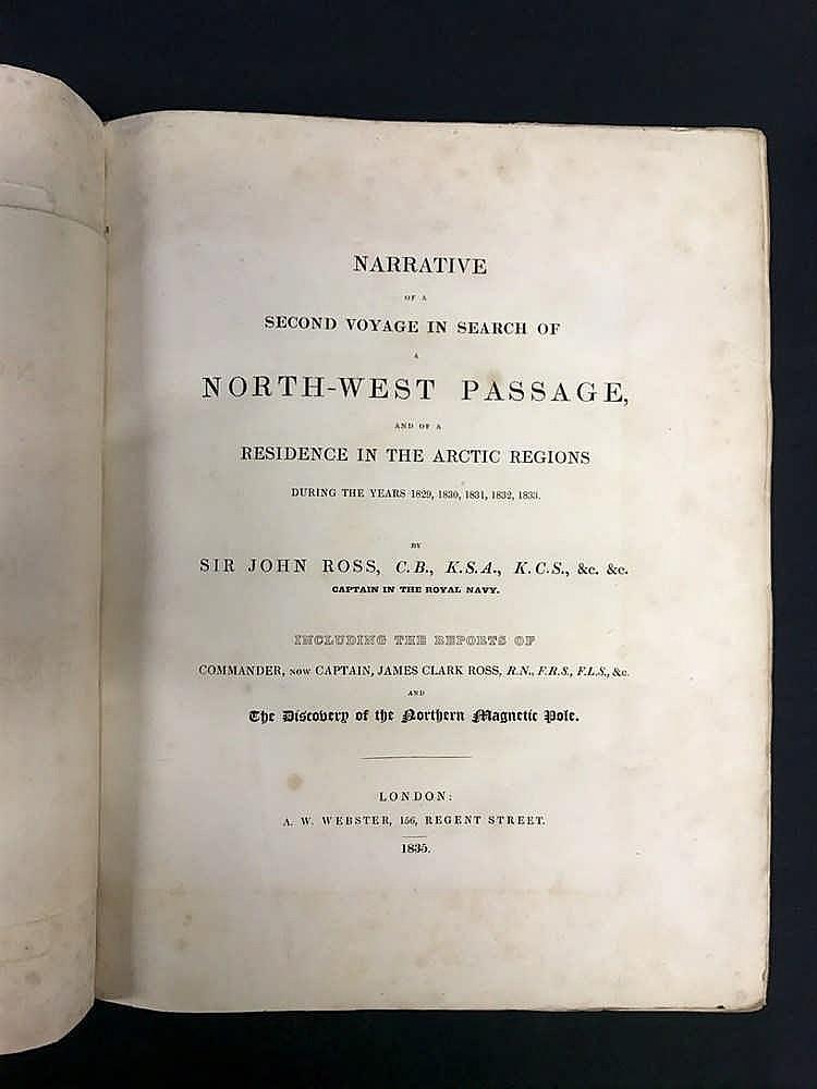 1835 North West Passage